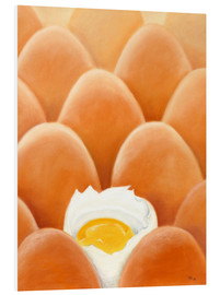 Tableau en PVC  Fresh farm eggs - Monica Schwarz