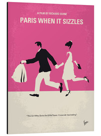 Alu-Dibond  No785 My Paris When it Sizzles minimal movie poster - chungkong