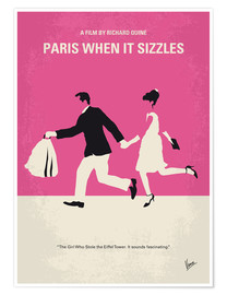 Poster  No785 My Paris When it Sizzles minimal movie poster - chungkong