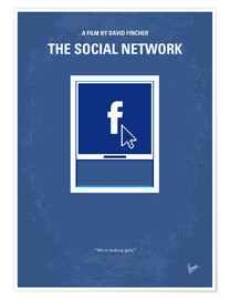 Poster The Social Network (anglais)