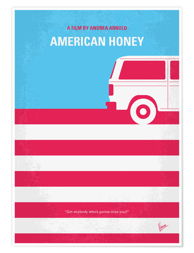 Poster American Honey (anglais)