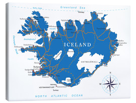 Toile  Iceland