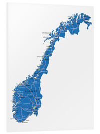 Forex  Map Norway