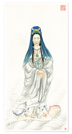 Poster Empress Dowager Cixi as Guanyin