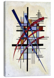 Toile  Sign with accompaniment - Wassily Kandinsky