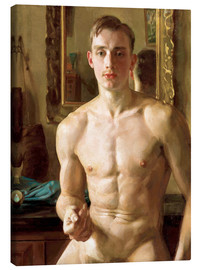 Toile  The Boxer - Konstantin Andreevic Somov