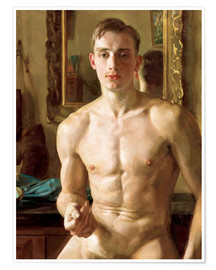 Poster  Le Boxer - Konstantin Andreevic Somov