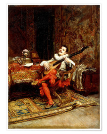 Poster The Lute Player