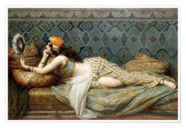 Poster The Odalisque