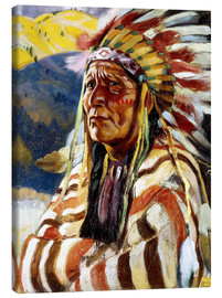 Toile  Chief Thundercloud - Walter Ufer