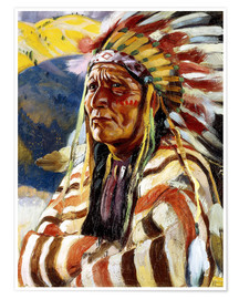 Poster  Chief Thundercloud - Walter Ufer