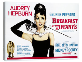 Toile  Breakfast at Tiffany's - English School