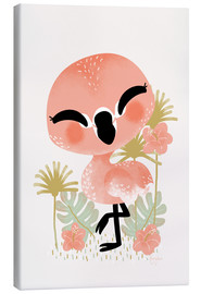 Toile  Animal Friends - The Flamingo - Kanzi Lue