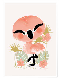 Kanzi Lue - Animal Friends - The Flamingo