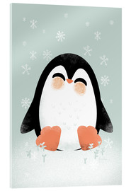 Verre acrylique  Animal Friends - The Penguin - Kanzi Lue