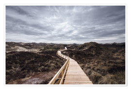 Poster Island routes on Amrum