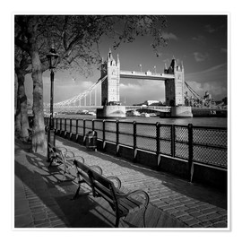 Poster  Le Tower Bridge à Londres - Melanie Viola