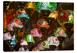 Tableau sur toile  Traditional turkish lamps
