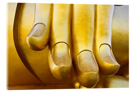 Verre acrylique  Fingers of the Buddha