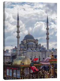 Tableau sur toile  A mosque in Istanbul