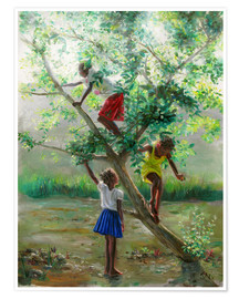 Poster  guava tree2 - Jonathan Guy-Gladding