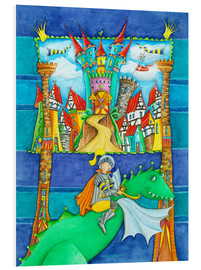 Forex  Knights Dragon and the Knight's Castle - Atelier BuntePunkt