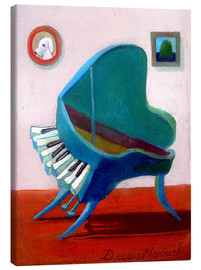 Toile  The Piano Pet - Diego Manuel Rodriguez
