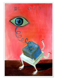 Poster  The eye - Diego Manuel Rodriguez