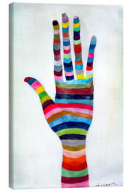 Toile  The hand 4 - Diego Manuel Rodriguez