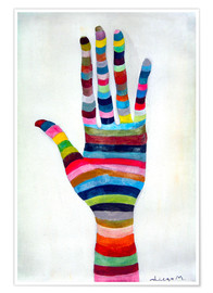Poster  The hand 4 - Diego Manuel Rodriguez