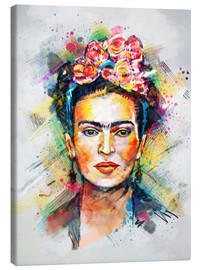 Toile  Frida Kahlo - Tracie Andrews