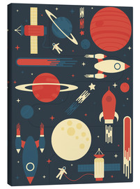 Tableau sur toile  Space Odyssey - Tracie Andrews
