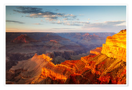 Poster  Sunset on Grand Canyon South Rim, USA - Matteo Colombo