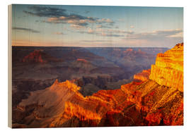 Bois  Sunset on Grand Canyon South Rim, USA - Matteo Colombo