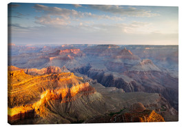 Tableau sur toile  Sunrise of Grand Canyon South Rim, USA - Matteo Colombo
