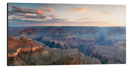 Alu-Dibond  Panoramic sunrise of Grand Canyon, Arizona, USA - Matteo Colombo
