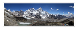 Poster Sagarmatha National Park Panorama