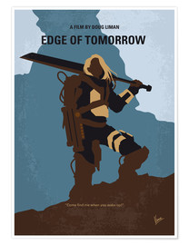 Poster Edge of Tomorrow (anglais)