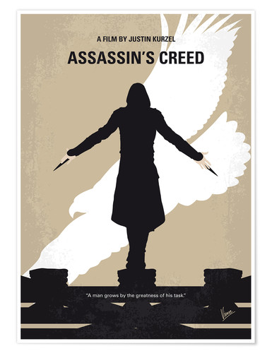 Poster Assassin's Creed (anglais)