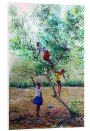 Tableau en PVC  Guava tree III - Jonathan Guy-Gladding