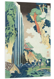 Tableau en PVC  Ono Waterfall on the Kisokaid?  - Katsushika Hokusai