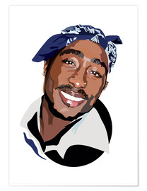 Poster  Tupac - Anna McKay