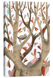 Toile  In the Tree No 2 - Judith Loske