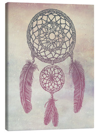 Toile  Dream Catcher Rose - Rachel Caldwell