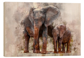 Bois  elephants - Peter Roder