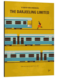 Alu-Dibond  No800 My The Darjeeling Limited minimal movie poster - chungkong