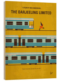 Bois  No800 My The Darjeeling Limited minimal movie poster - chungkong