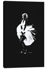 Toile  Marilyn Monroe - tom