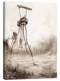 Tableau sur toile  The Fighting Machine - Henrique Alvim Correa