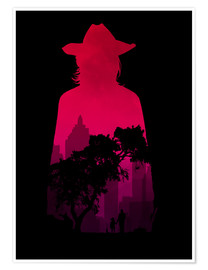 Poster  The Walking Dead - Carl Grimes - HDMI2K